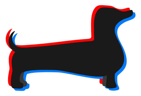 visual effect: Visual effect dog