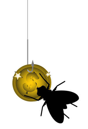 Economy bug Vector
