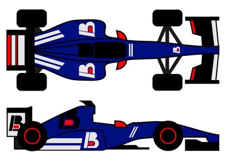 indy: Modern racing car