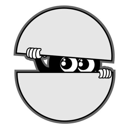 Spy bug Stock Vector - 12748111