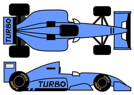 스포츠 자동차 1990 스타일