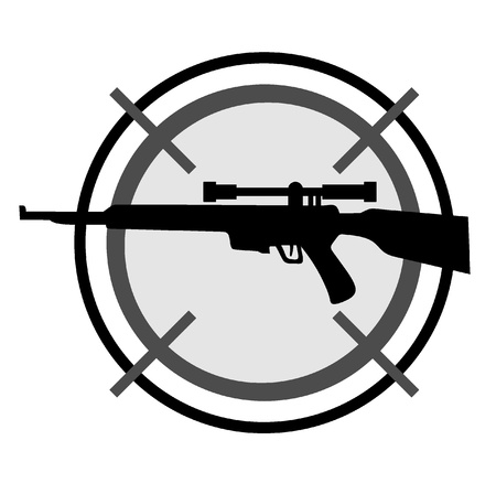dangerous weapons: Army circle icon