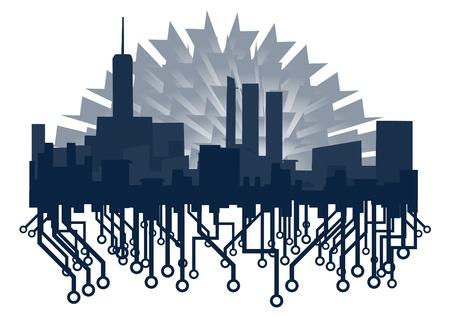 Tech innovation city