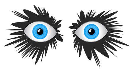 Eyes innovation Vector