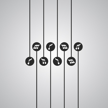 Music signs Vectores