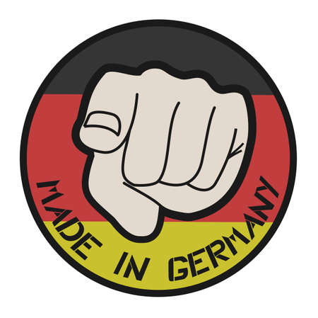 Made in Germany icon Vector