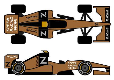 Modern racing car Stock Vector - 12748481