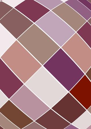 quadrant: Fashion wallpaper design Illustration