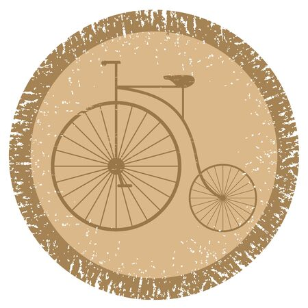 Vintage bicycle Stock Vector - 12811452