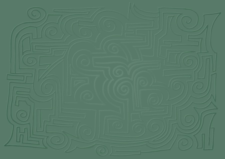 undertaking: Green texture Illustration