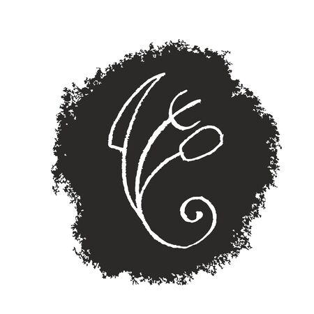 Creative chef symbol Vector