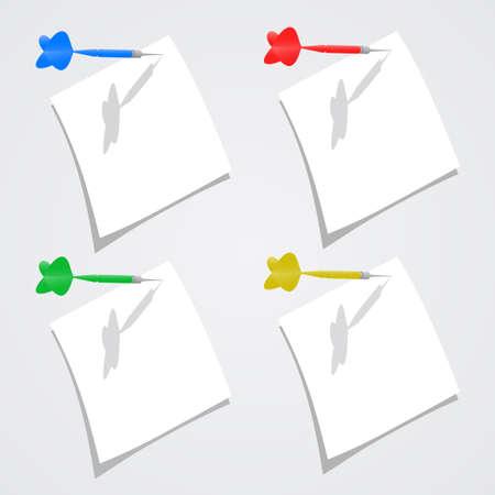 Paper white Vector