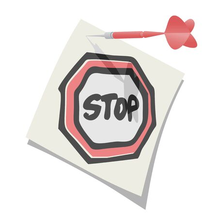 nailed: Stop zone Illustration