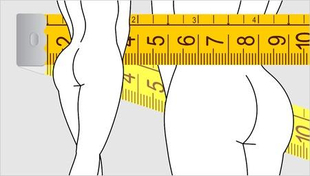 Woman diet Stock Vector - 12969628