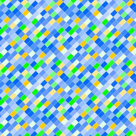 Blue art pixel Ilustração