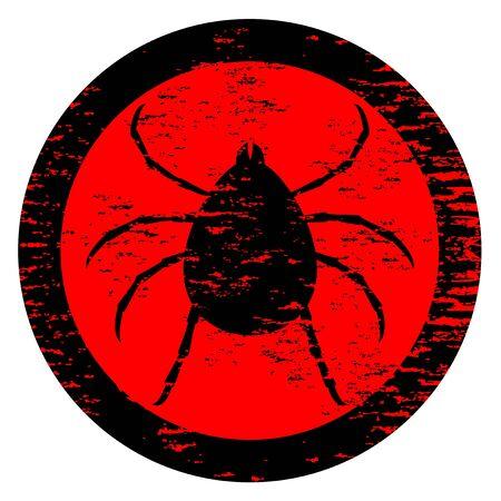 Parasite icon Stock Vector - 12969647