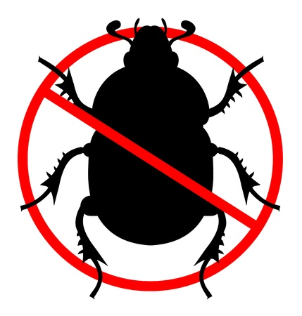 No insects Stock Vector - 12969380