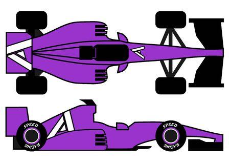 car speed: Speed car Illustration