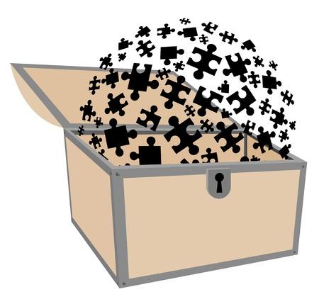shut up: Puzzle treasure