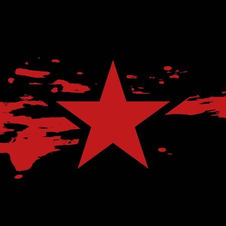 Star flag Illustration
