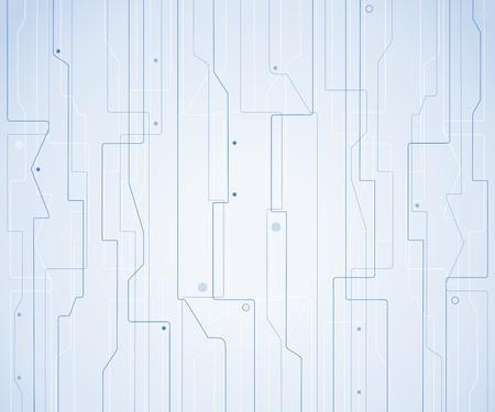 Blue tech background Vector