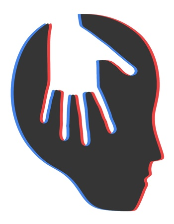 Psychology symbol Stock Vector - 13417792