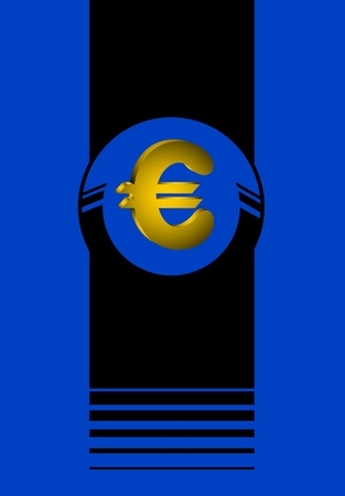 booming: Euro background