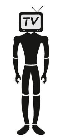 audiovisual: Tv cartoon puppet