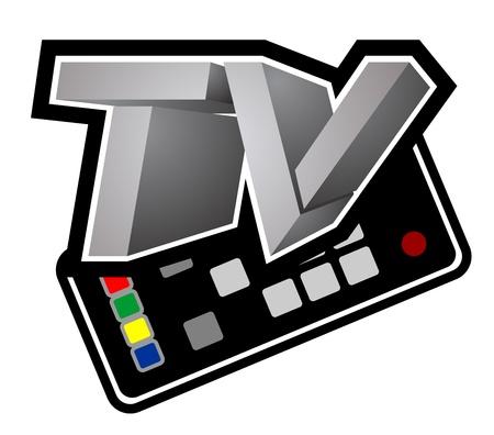 issuer: Tv command Illustration