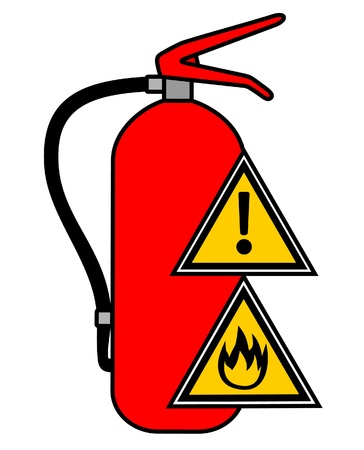 Fire danger Vector