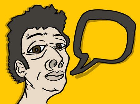 commentary: Hombre creador de dibujos animados frente a los comentarios