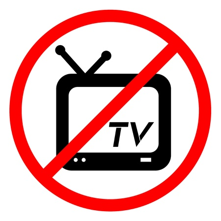 No television Stock Vector - 13778242