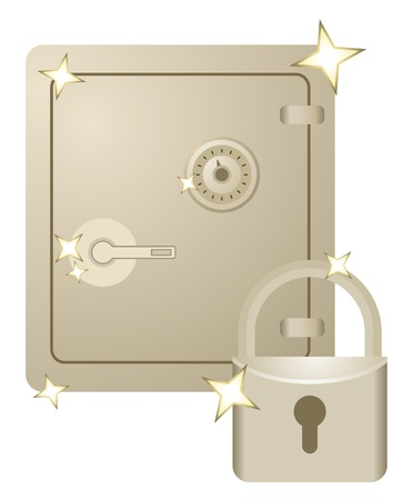 booming: Golden security Illustration
