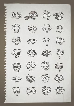 Vintage draw Vector