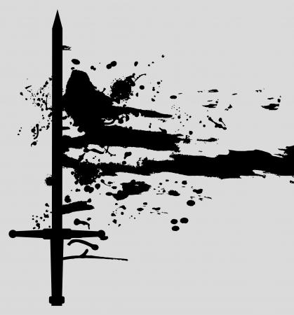 Dark war Vector