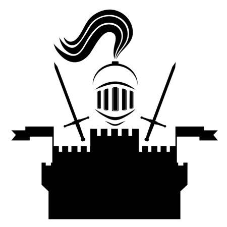 surety: Medieval army castle Illustration