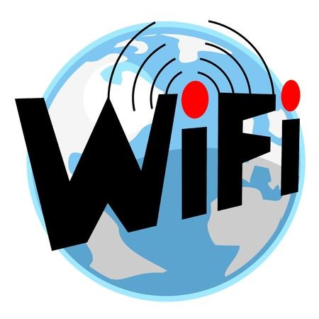 telephone mast: Internet connection icon