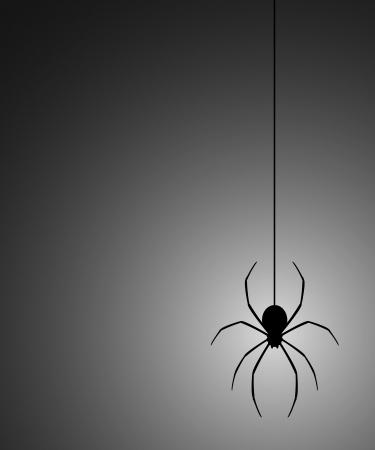 Black spider light