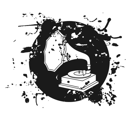 Old art music Stock Vector - 14394936