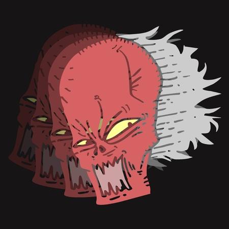 clownophobia: Motion evil Illustration