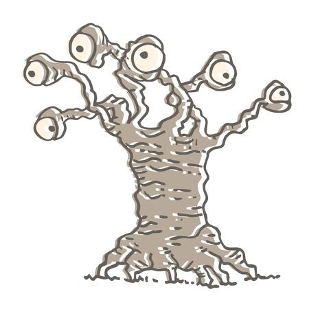 spying: Eye tree