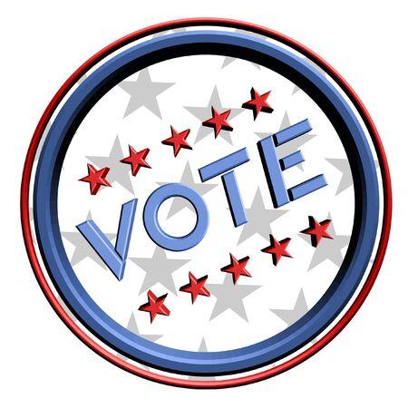 Vote sign Stock Vector - 14556061