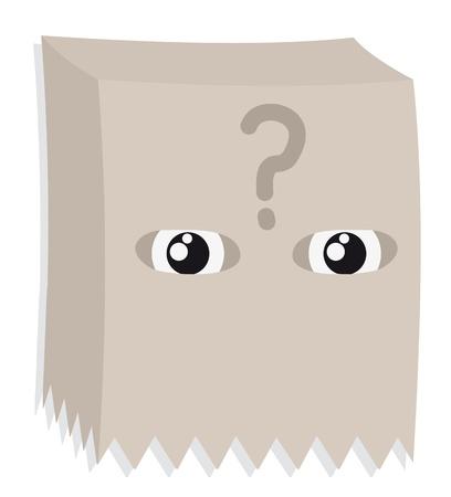 Mystery mask Stock Vector - 14555961