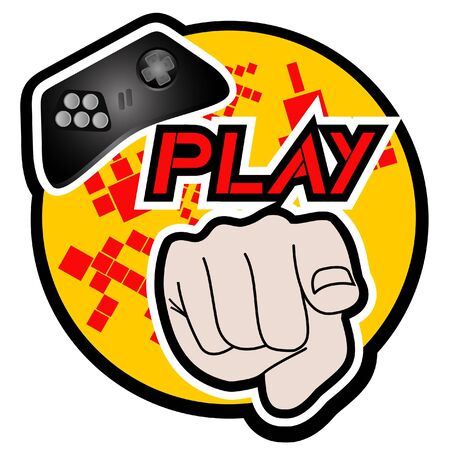 Play sign Stock Vector - 14653501