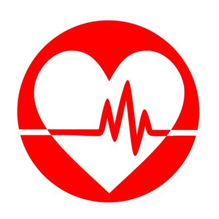 Pulse heart 免版税图像 - 14653491