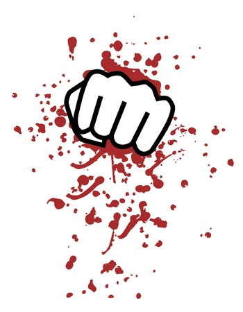 Blood punch Vector