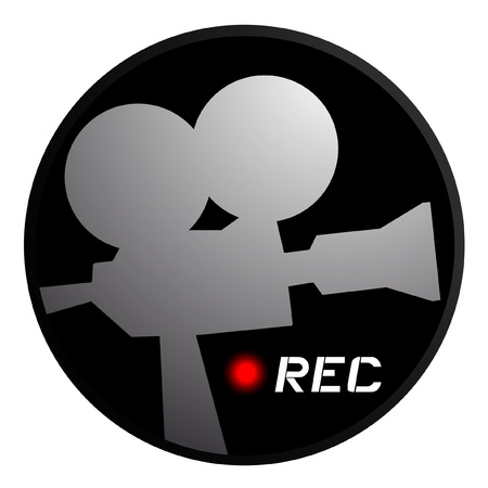 on records: Cam icon