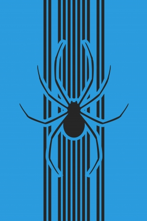 Spider cover Vector