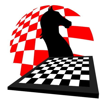 Chess art Vector