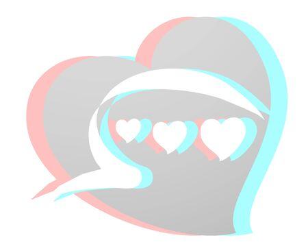 indeed: Virtual heart Illustration